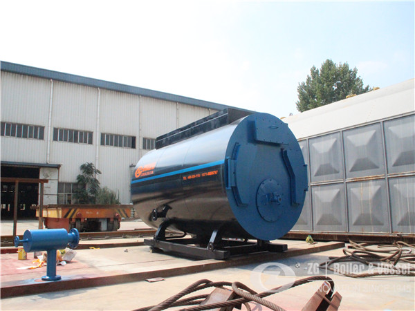 gas fired steam boiler for roll pvc plastic calender plant